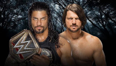 Roman Reigns Vs Aj Styles Extreme Rules Results, Photos 2016