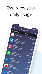 Screen Time Tracker and Limit App