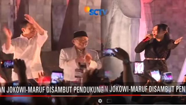 Joget Dangdut dan Kiai Ma'ruf, Blunder bagi Jokowi