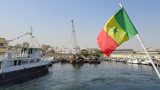 Ferry towards ille de Gore