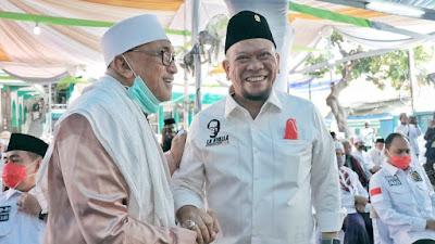 Hadiri Haul KH Hamid, LaNyalla Apresiasi Anggaran Pemerintah untuk Pesantren