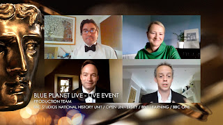 blue Planet live event team on Zoom
