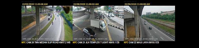 Untuk ketahui keadaan trafik secara langsung atau secara live bagi semua lebuhraya di Malaysia, anda boleh pantau melalui CCTV yang disediakan dan boleh dilihat melalui pautan di pautan Jalanow.