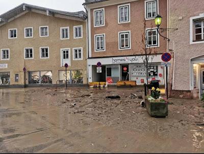 زالتسبورغ تخصص مأوى طوارئ للمتضررين من الفيضان