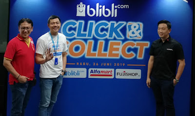 Blibli Click & Collect