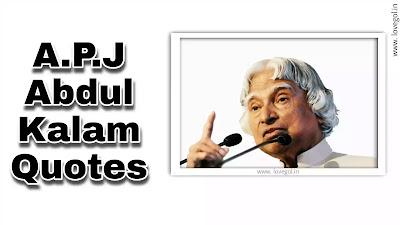 Best Abdul Kalam Quotes
