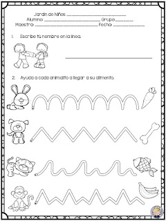 evaluación diagnóstica preescolar pdf