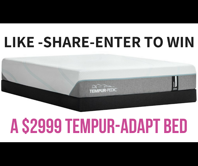 Enter to Win a Tempur-Adapt Queen Size Matress