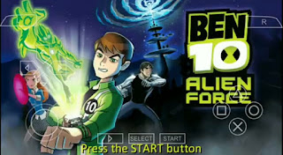 Ben 10 Alien Force ISO PPSSPP FOR ANDROID