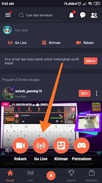 Cara Live Streaming Game di Android Mudah dan Lengkap