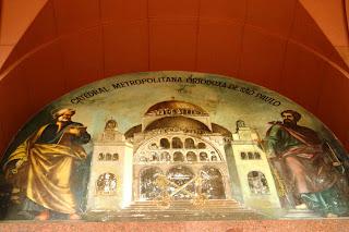 Retrato da Catedral Ortodoxa de São Paulo