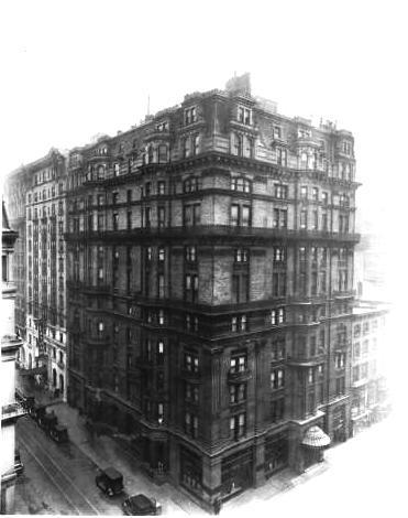 Daytonian In Manhattan The Lost 1882 Knickerbocker Apartments