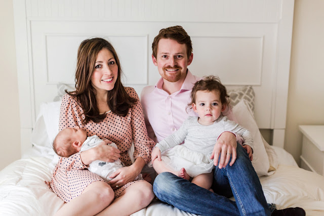 This Alexandria, Virginia family of three is now a family of FOUR!  Photography by Heather Ryan Photography