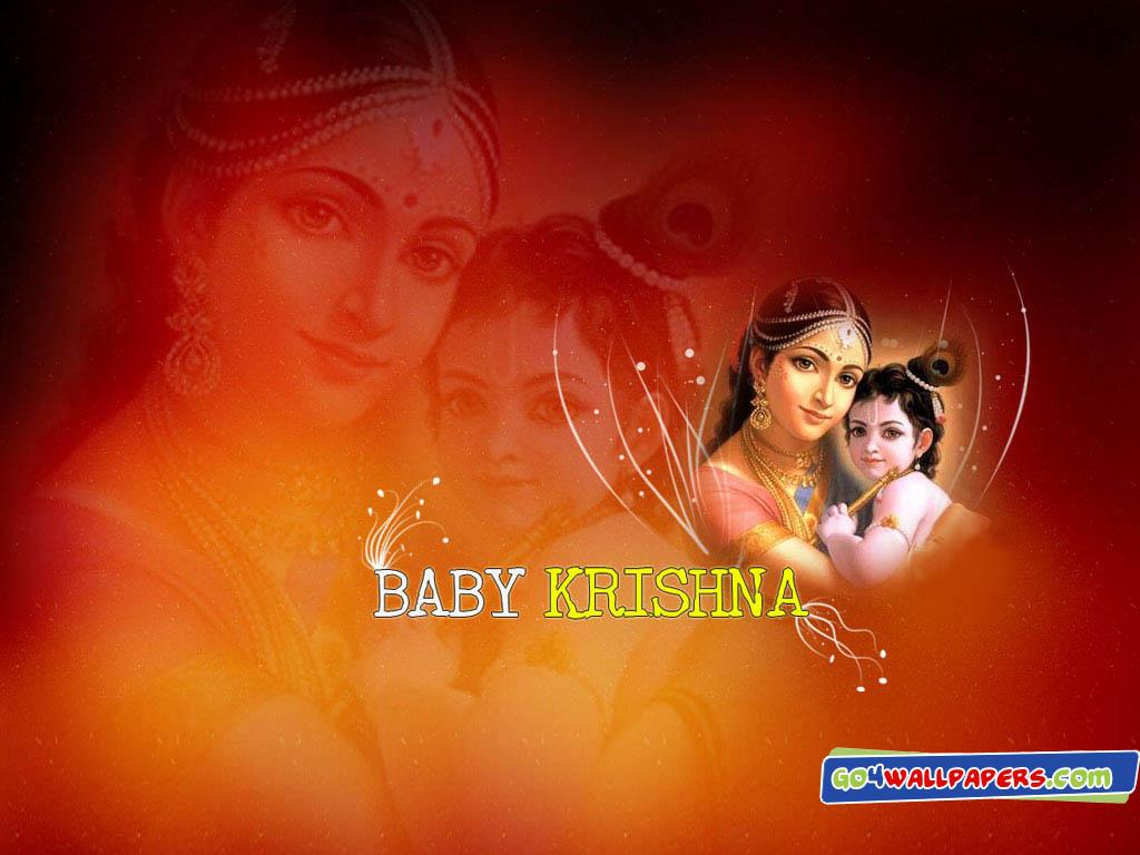 All World Wallpapers: Baby Krishna Wallpapers