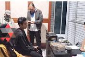 Sat Reskrim Polres Loteng Amankan Pelaku Video Titok Dengan Gerakan Sholat