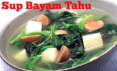 http://berjutaresep.blogspot.com/2016/11/resep-masakan-sup-bayam-tahu.html