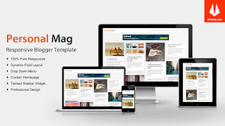 MagOne – Responsive News & Magazine Blogger Template Free Download