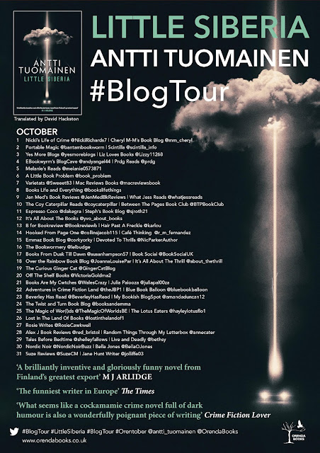 Little Siberia blog tour