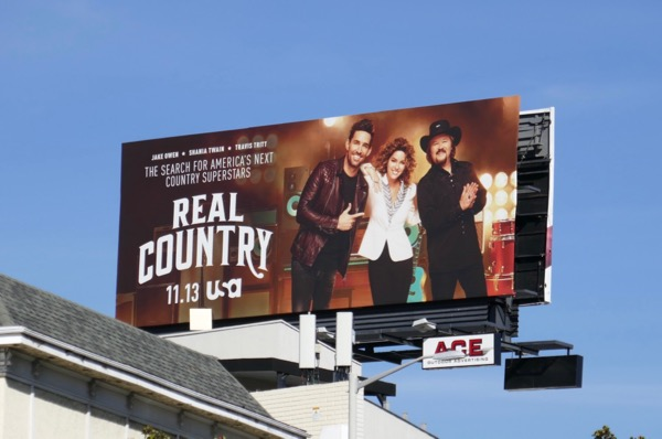 Real Country season 1 billboard