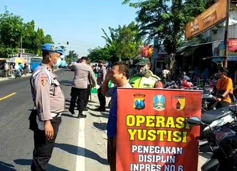 Bulan Ramadhan, TNI-Polri Di Ngawi Tetap Bersinergi Gelar Pendisiplinan Prokes
