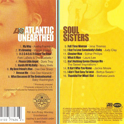 VA - Atlantic Unearthed Soul Sisters (1964-1972) (2006)