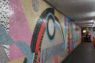 Southampton mosaic footbridge