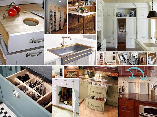 حلول عملية للتخزين والترتيب في المطبخ