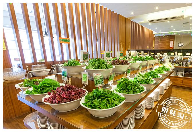 青菜居然比肉還好吃,每月報到淨化身心,葷素通吃的-上竹林食草館養生汆燙鍋