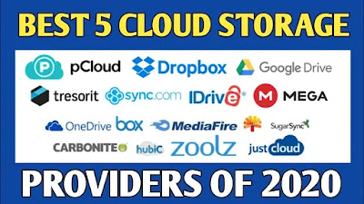 The Best 5 Cloud Storage Service Providers of 2020 |