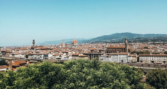 Piazzale Michelangelo, florencja, firenze, florence, italy, włochy