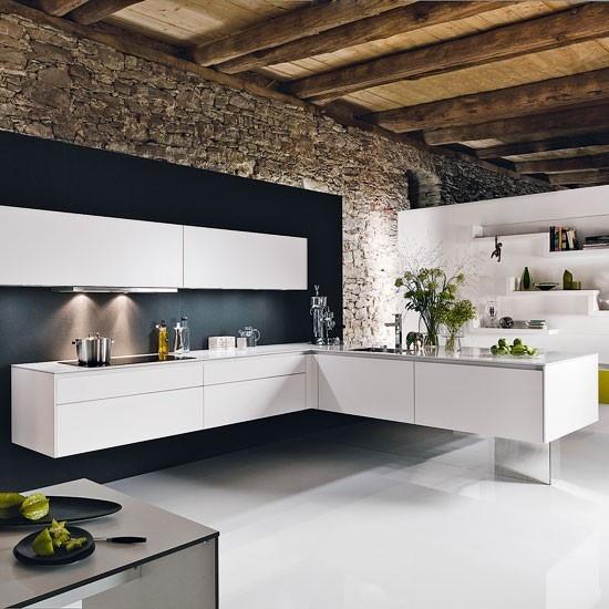 I.De.A: Kitchen: Minimal Vs Rustic