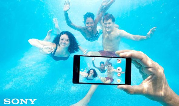 Don't Use Sony WaterProoF Smartphones Under Water