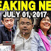 Breaking News Today July 01 2018 P Duterte / Trillanes/ Thingking Pinoy / Sereno / Lp Senate Ticket