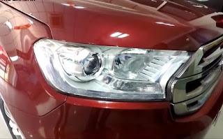 Endeavour headlights
