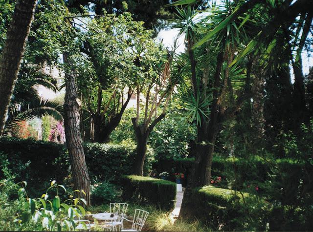 jardines en Gracia