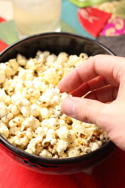 popcorn aux epices chinoises
