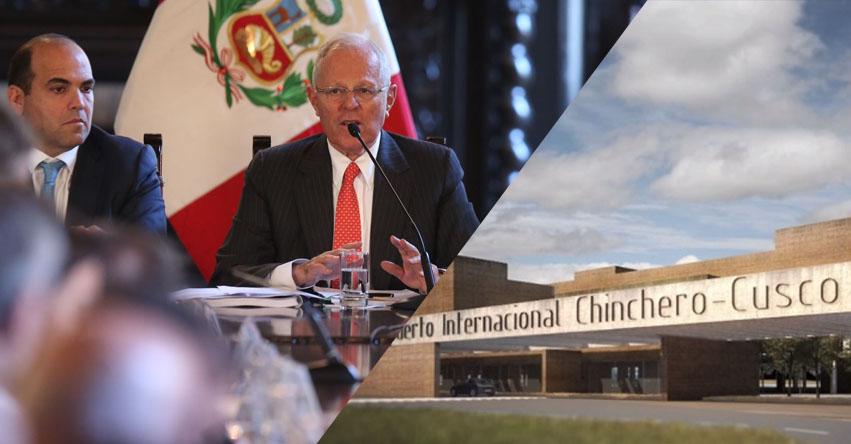 Gobierno deja sin efecto contrato de concesión de aeropuerto de Chinchero - Cusco