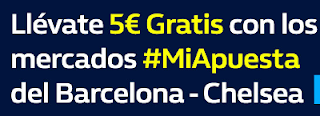 william hill promocion Barcelona vs Chelsea 14 marzo