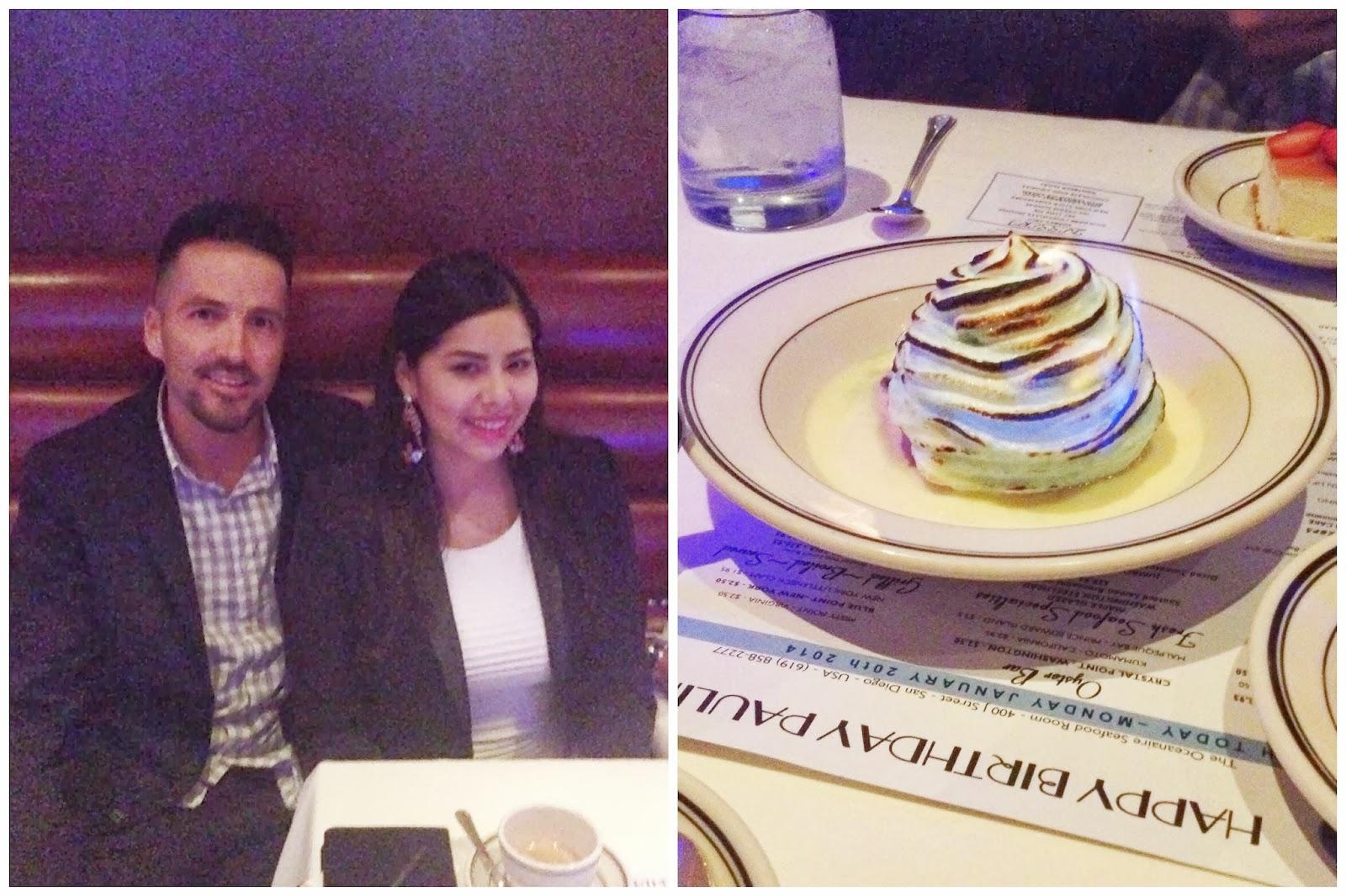 romantic birthday dinner