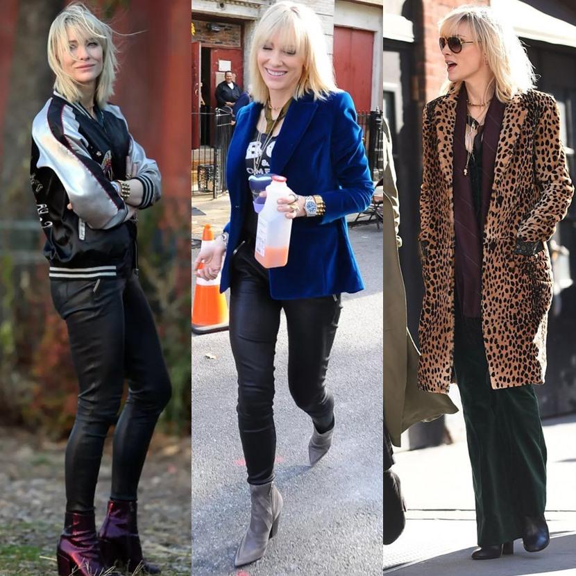 Looks da Cate Blanchett em Oito Mulheres E Um Segredo