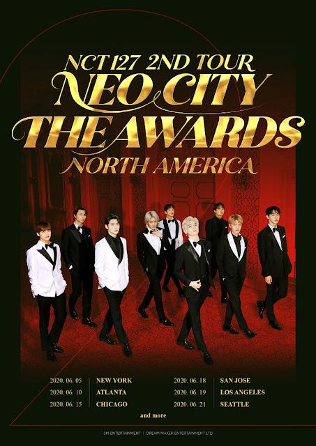 NCT 127 Rilis Jadwal Untuk Tur Konser di Amerika