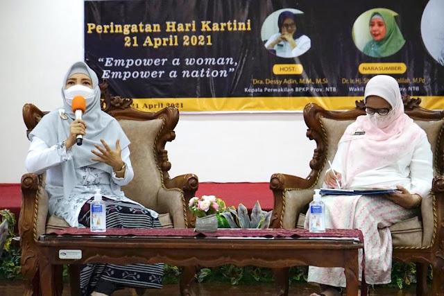 Wagub NTB sampaikan 4 hal penting di Hari Kartini