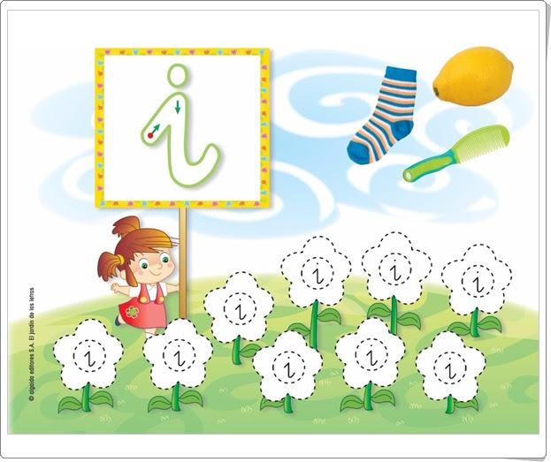 Recursos educativos de educaci n infantil letra i el for El jardin de las letras