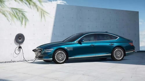 Genesis introduces its first electric vehicle