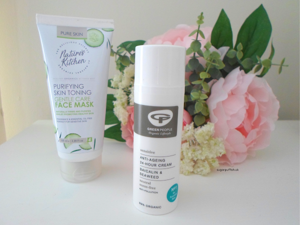 Reviews for Love Lula - Green People Neutral Scent Free Anti-Ageing 24 Hour Cream and Nature's Kitchen Purifying Skin Toning Gentle Care Face Mask
