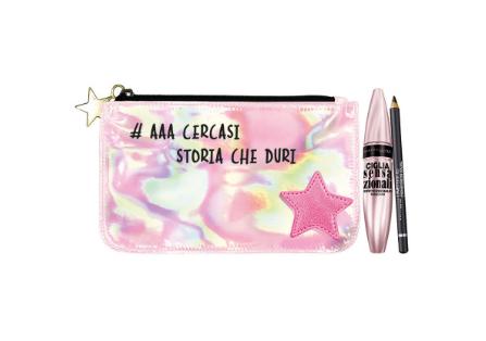 Ciglia sensazionali Maybelline set cofanetto make up regalo di Natale sotto i 50 euro Mirtilla Malcontenta beauty blog