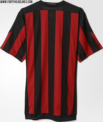 size 40 95983 a1a7b AC Milan 15-16 Kits Revealed - Footy Headlines