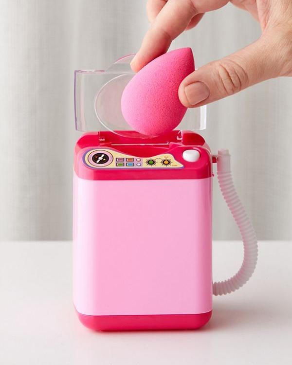 Mini Makeup Sponge Washing Machine. Small Mini Cosmetic Washing Machine Low Price