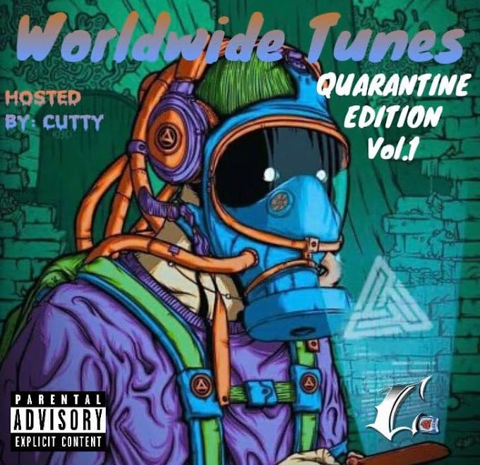 """New Music Premiere: Cutty's third project """"Worldwide Tunes"""" Front Page Spinrilla"""