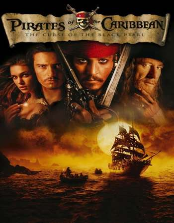 Pirates of the Caribbean The Curse of the Black Pearl 2003 Dual Audio 650MB BRRip 720p ESubs HEVC